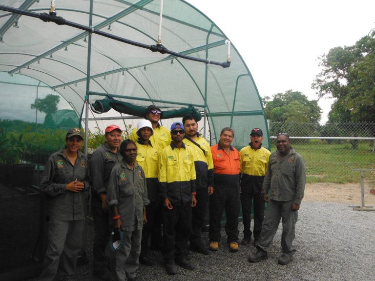 Green Army teams work to preserve Aboriginal culture