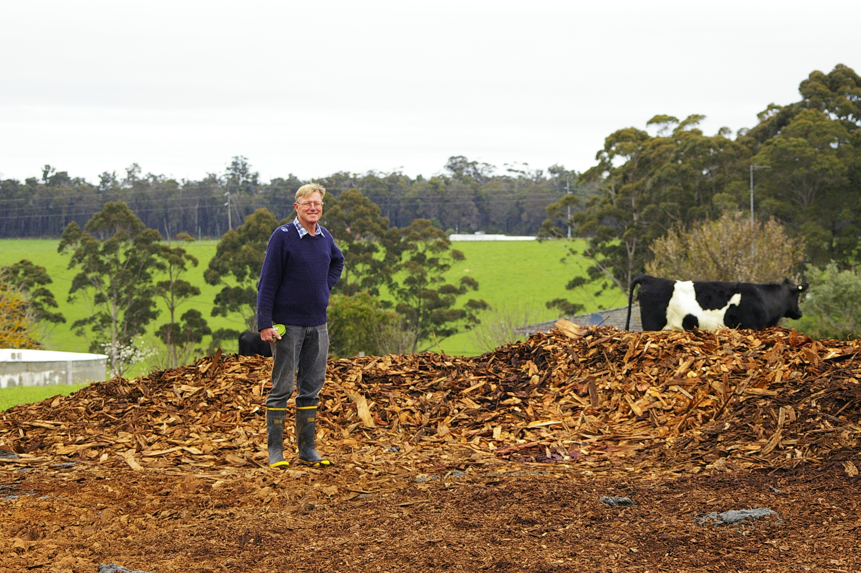 Creating 'volcanic' soil in WA
