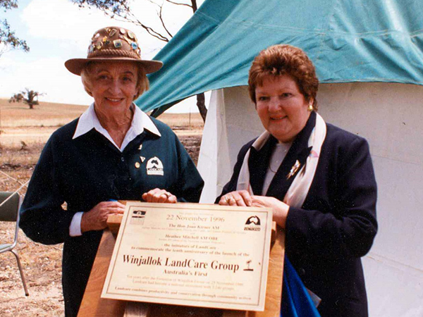 08 March 2017 – Pioneering Landcare Women #BeBoldForChange