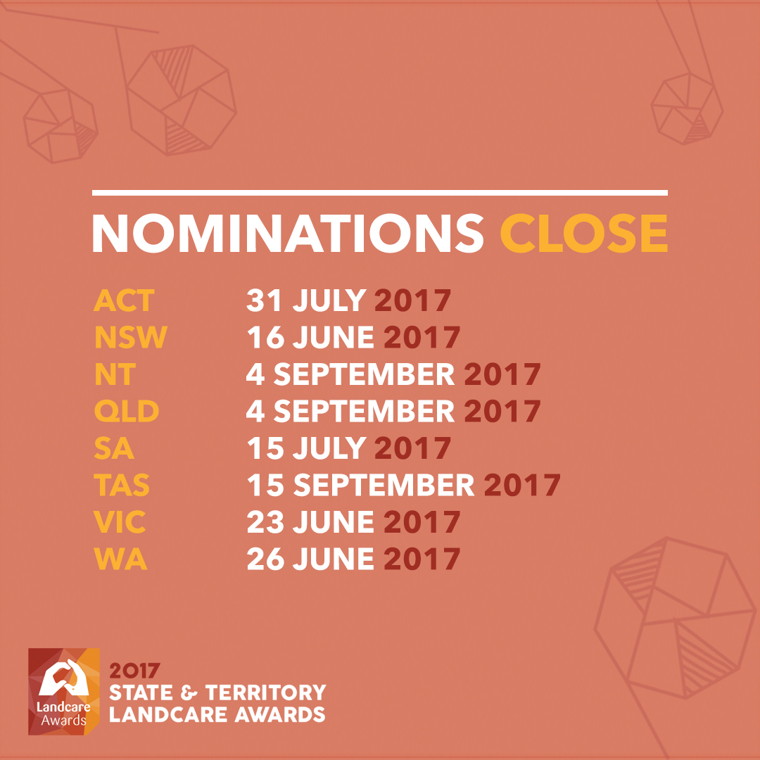 Nominate a Landcare Champion