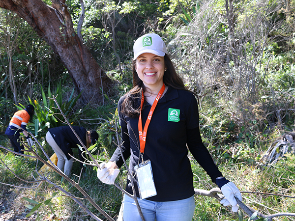 Corporate Australia gets to work for Landcare Week!