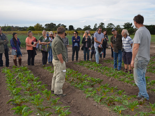 Organic vegie and fruit growers discussion group a resounding success