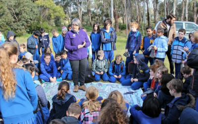 Merri Creek inspires Newland Primary's native garden
