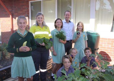Collie schools working to enhance habitats
