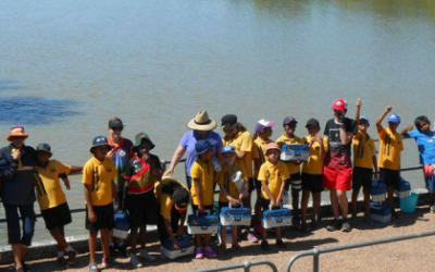 Landcare volunteers' time and resources in Burke Shire