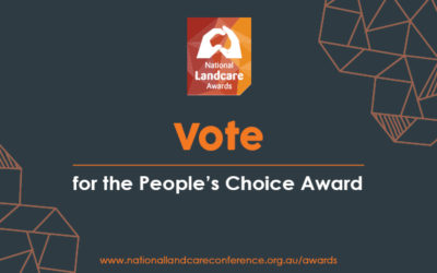 Vote for your favourite Landcarer and win a ticket to the 2018 National Landcare Conference and Awards