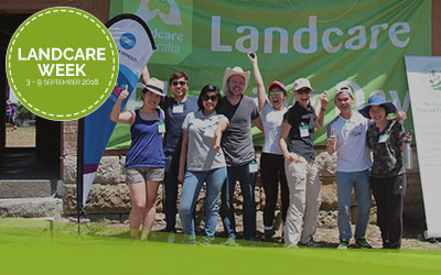 Take advantage of Landcare Week employee engagement opportunities