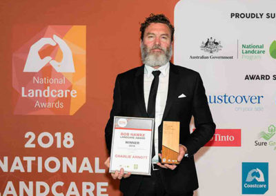 Biodynamic farmer and grazier wins Bob Hawke Landcare Award