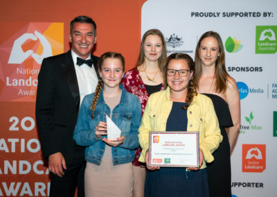 Mount Compass Area School Swamp Ambassadors Win National Junior Landcare Team Award