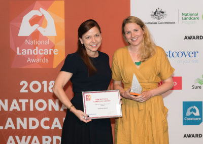 Local resident wins National Young Landcare Leader Award