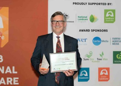 Lake Baroon Catchment Care Group shines at National Landcare Awards