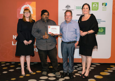 Indigenous land management group in Australia's second most remote community takes out national Landcare award