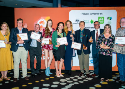 Landcare community celebrates its champions