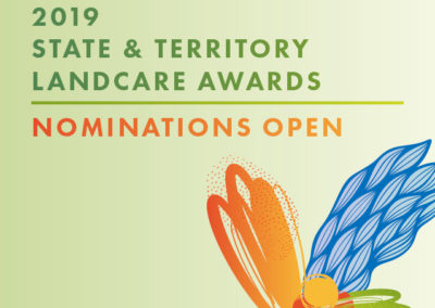 2019 State and Territory Landcare Awards: Nominations are now open