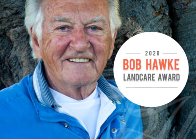 Bob Hawke Landcare Award to recognise leadership and commitment in natural resource management and sustainable agriculture
