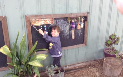 Kindy's sensory garden engages all senses
