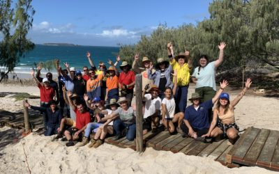 Youth volunteers come together to protect Great Keppel Island in restoration project