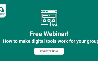 Free webinar to help find the right digital tools for your group