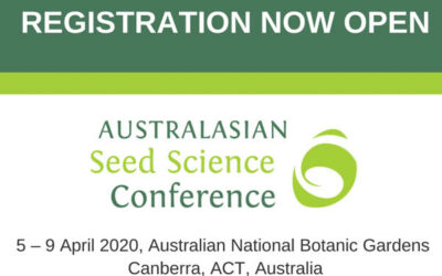 Australasian Seed Science Conference 2020