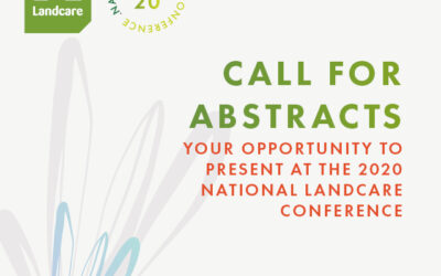 Call for Abstracts 2020 National Landcare Conference