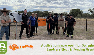 2020 Gallagher Landcare Electric Fencing Grants