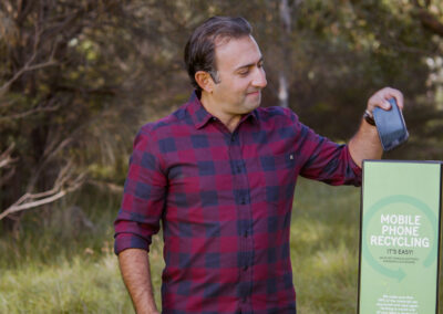 MobileMuster is rounding up old mobile phones in  August to support Landcare Australia