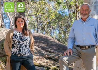 WIRES and Landcare Australia award $1.185million to 64 groups across the country in post-bushfire wildlife habitat regeneration