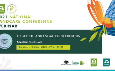 You're invited to our very first National Landcare Conference webinar