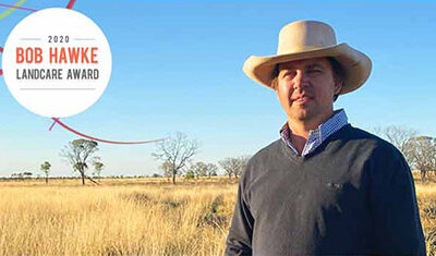 Longreach farmer sustainable approach secures nomination for Bob Hawke Landcare Award