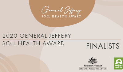 Trio of Australian soil health experts nominated for prestigious new award